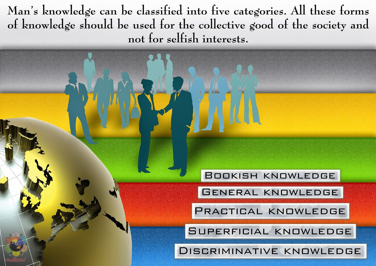 bookish knowledge verses practical knowledge 1knowledge refers to theoretical information acquired about any subject whereas skills refer to practical application of that knowledge 2knowledge can be learned whereas skills require practical exposure and can also be in-born.