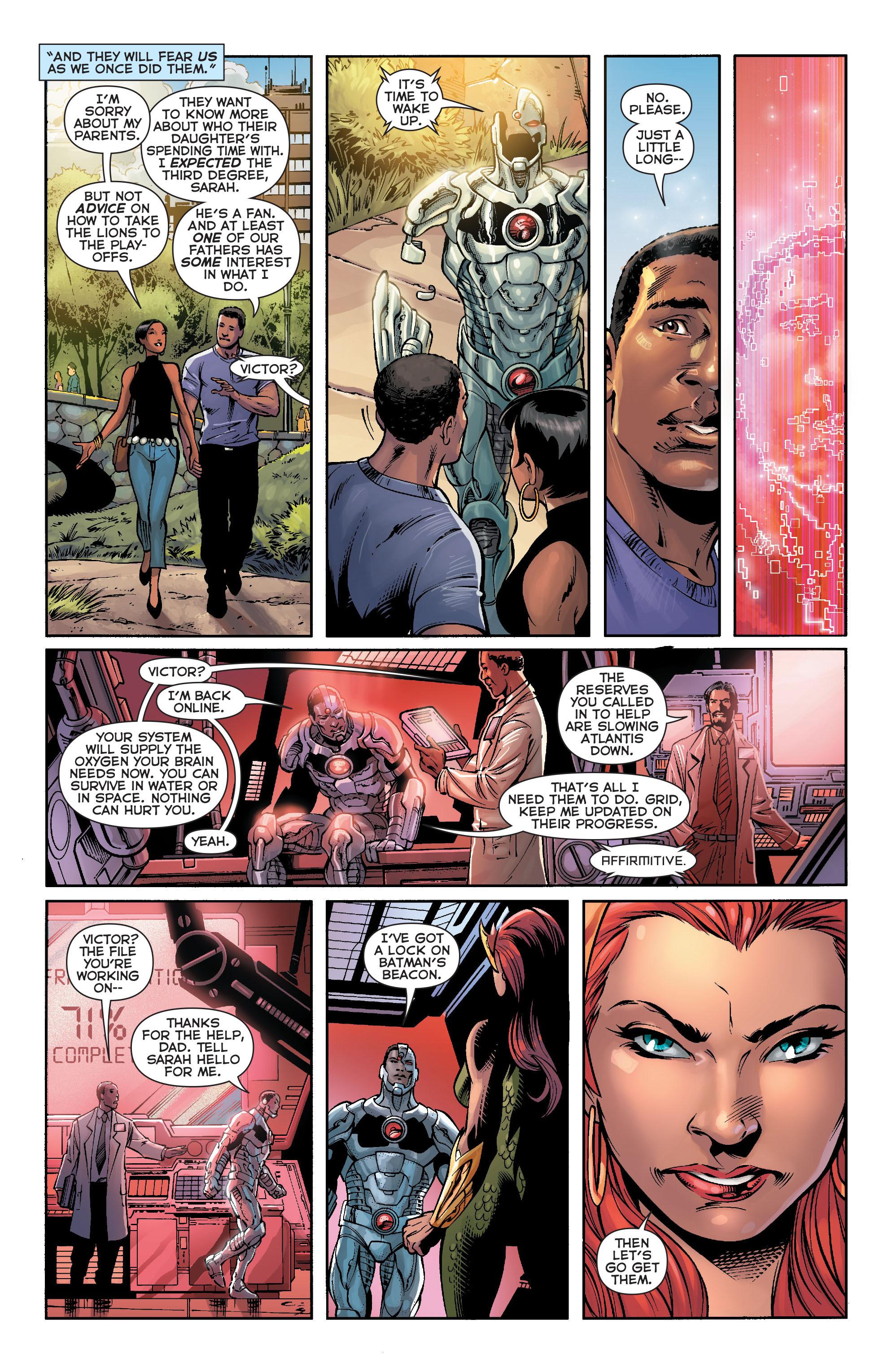 Read online Aquaman (2011) comic -  Issue #16 - 12