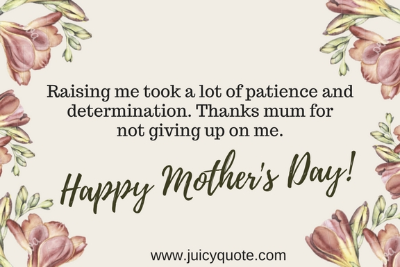 Mother's Day Mesages In English   Juicy Quote