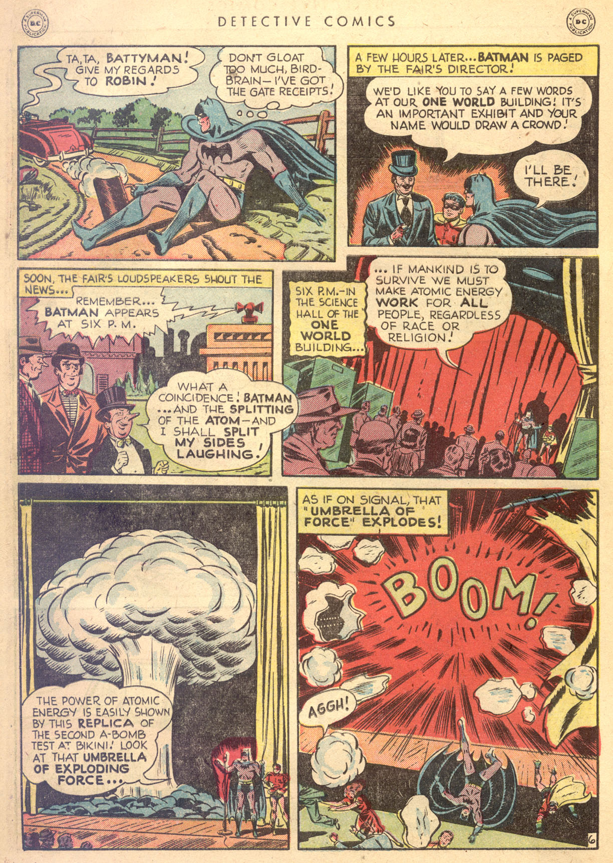 Read online Detective Comics (1937) comic -  Issue #134 - 8