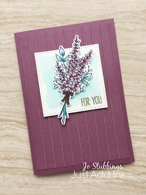 Jo's Stamping Spot - Just Add Ink Challenge #403 using Lots of Lavender by Stampin' Up!