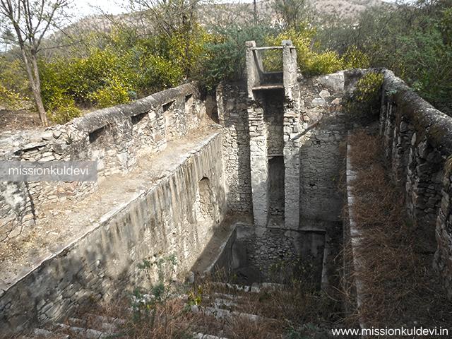 Ancient Baori atRajrajeshwari Mata Temple Jaipur