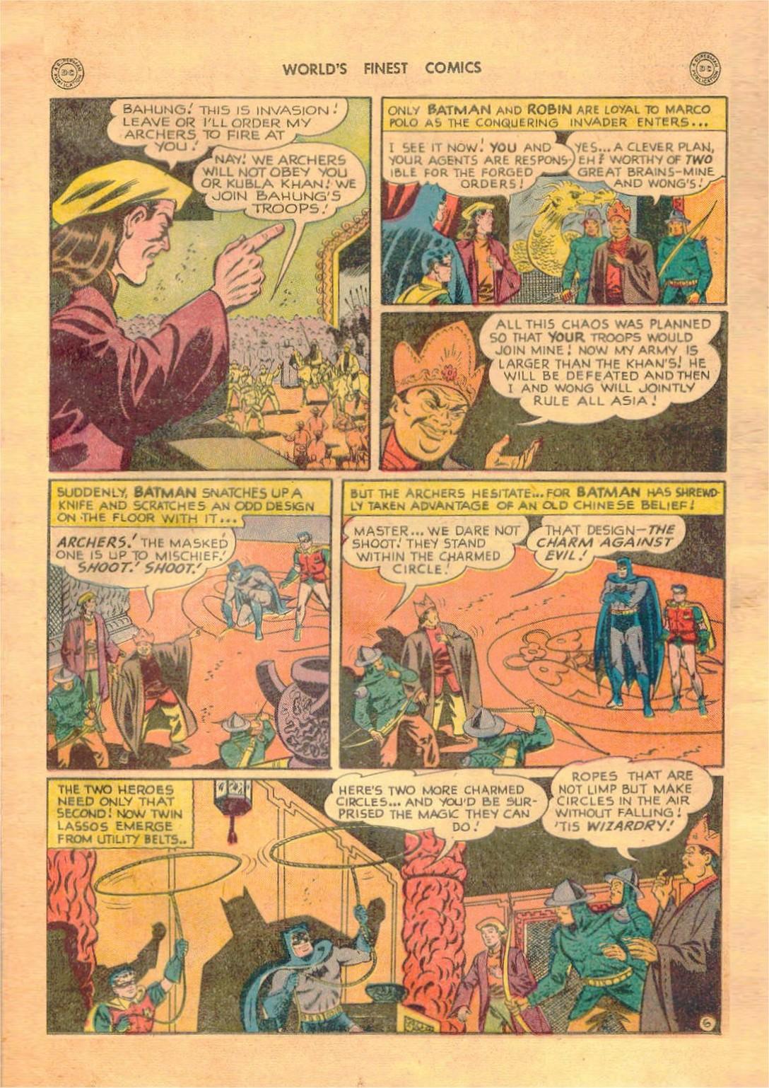 Read online World's Finest Comics comic -  Issue #42 - 67