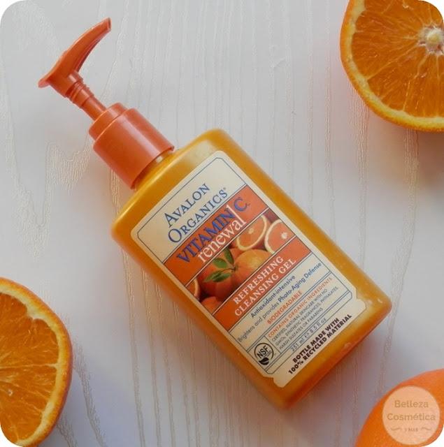 Gel Limpiador Avalon Organics Vitamin C Renewal opinión
