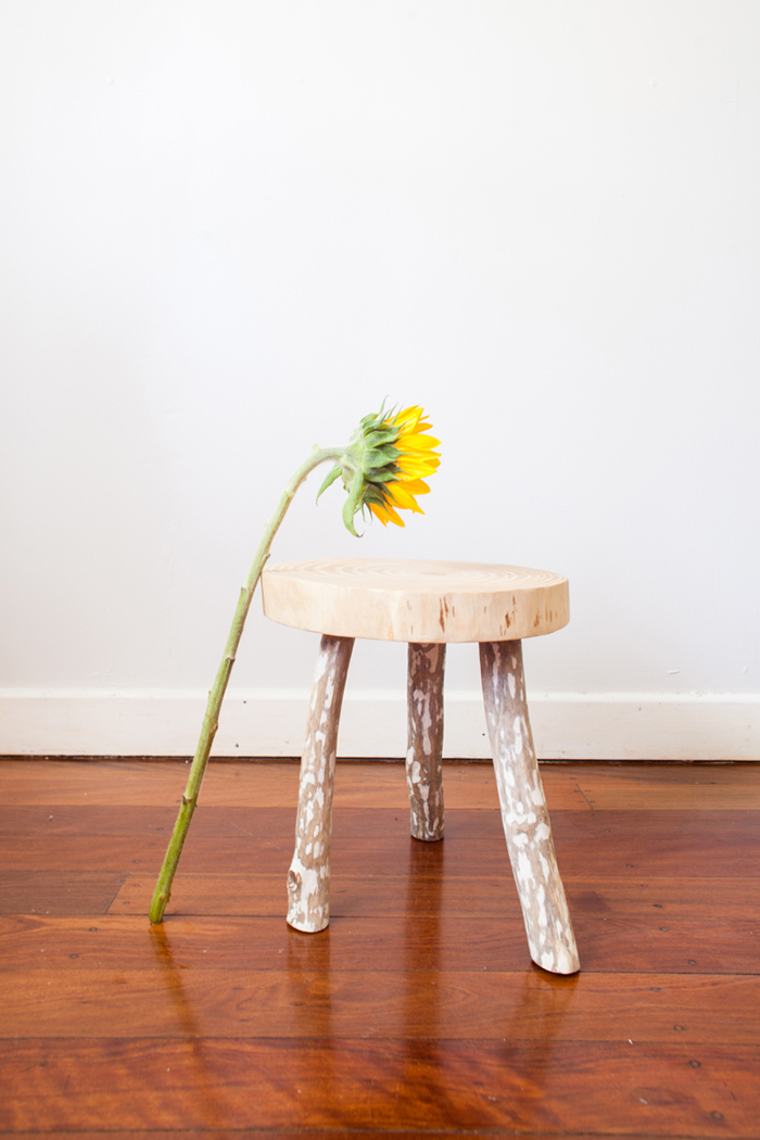 wooden stool - australian maker