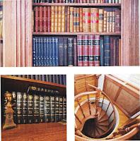 Castelul Savarsin. Biblioteca