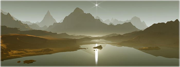 lagos fantasmas em titã