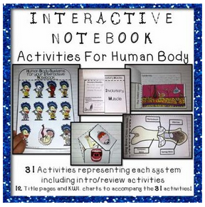 https://www.teacherspayteachers.com/Product/Human-Body-Interactive-Notebook-Activity-Pack-for-Life-Science-Biology-1515038