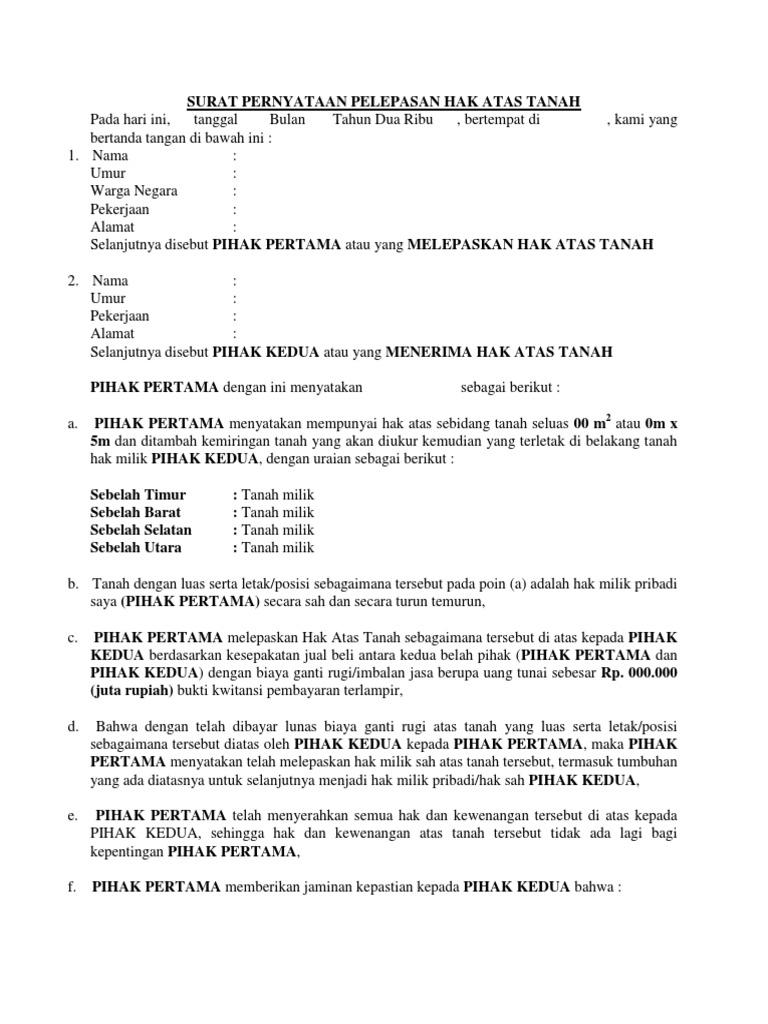Contoh Surat Hibah Mobil 2019 Kumpulan Contoh Surat Lengkap