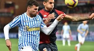 لقاء سبال وجنوي ينتهي بالتعادل الاجابي بهدف لمثله في الجولة الثالثه عشر من الدوري الإيطالي