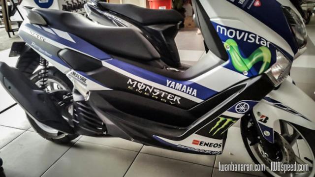 modifikasi motor yamaha nmax foto gambar39  terbaru