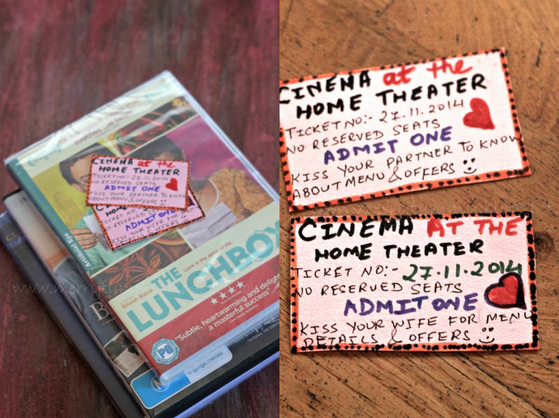 Merry Tummy DIY Movie BasketPersonalized Gift Idea For - create your own movie ticket