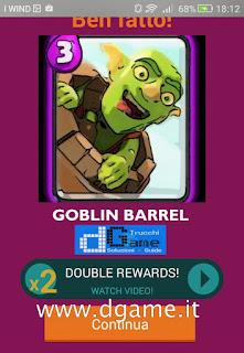 Soluzioni Quiz Clash Royale card livello 3