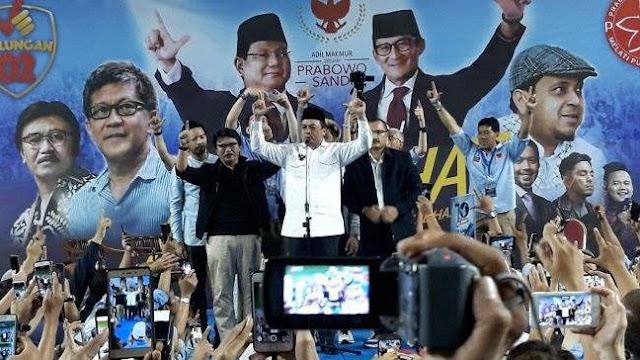 Inilah Pidato Lengkap Ustadz Bachtiar Nasir Saat Umumkan Dukungan kepada Prabowo Sandi
