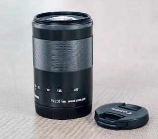Jual Lensa Canon EF-M 55-200mm IS-STM Bekas