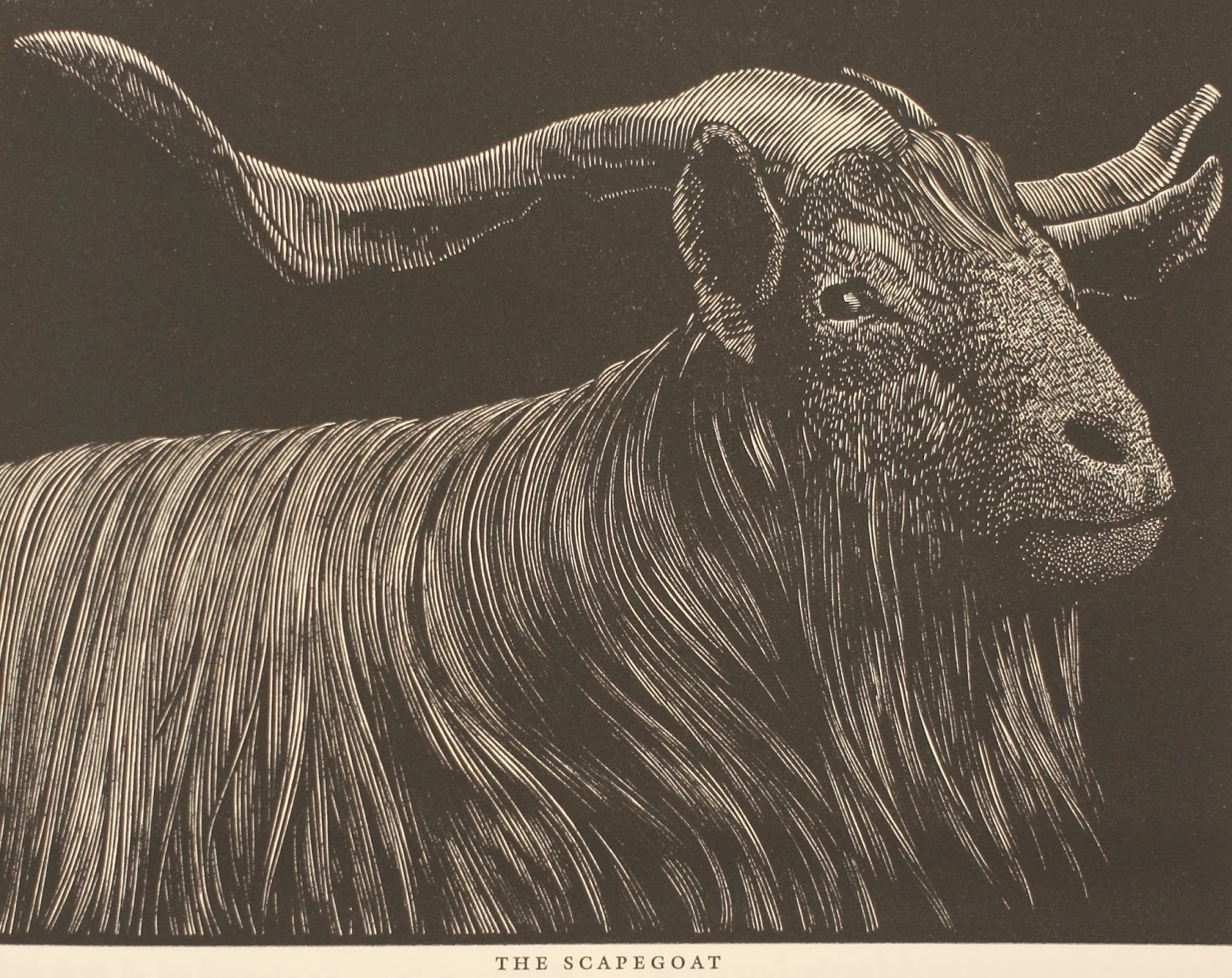 SCAPEGOAT IN THE BIBLE - King James Version