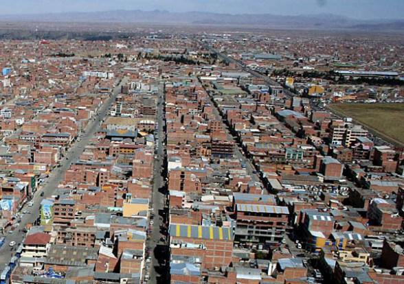 3 ciudades bolivianas entre las más altas del mundo