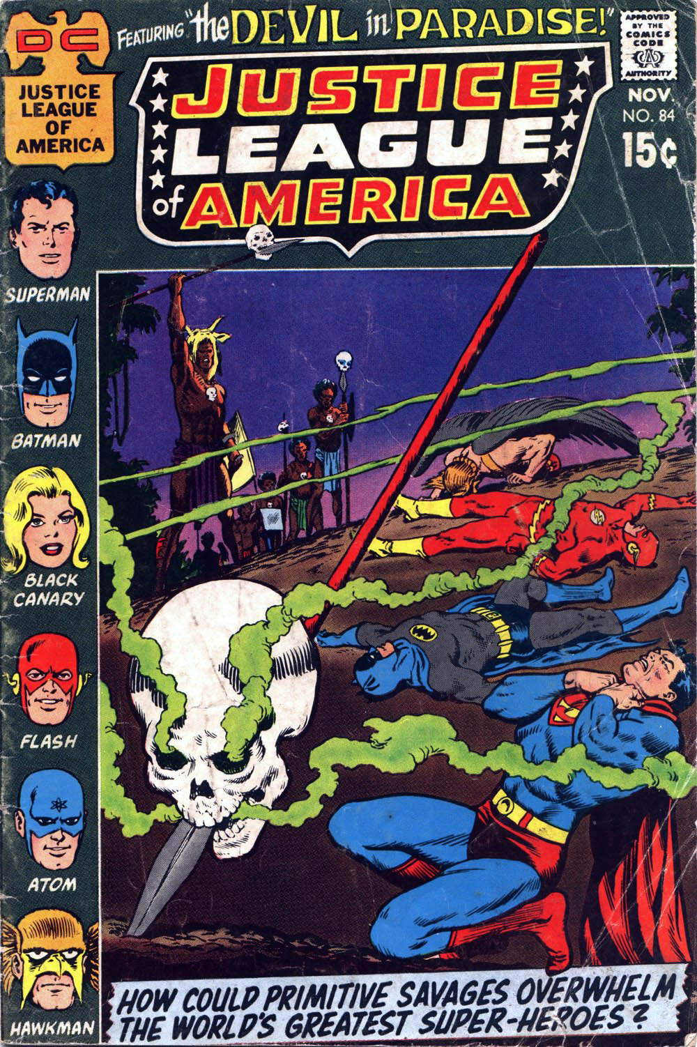 Justice League of America (1960) 84 Page 1