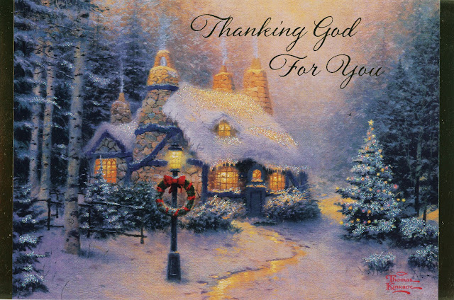 Thomas Kinkade Christmas Paintings Pictures Christmas