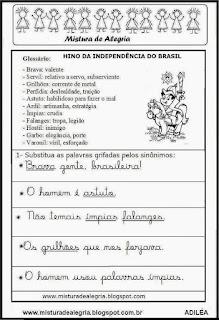 Hino Independência do Brasil