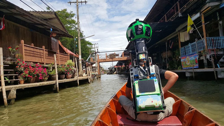Street View Guy Walks 500 km To Document The Beauty Of Thailand's Impossible To Reach Areas