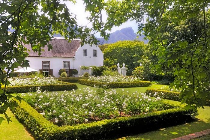 Stellenberg Gardens, jardín de rosas