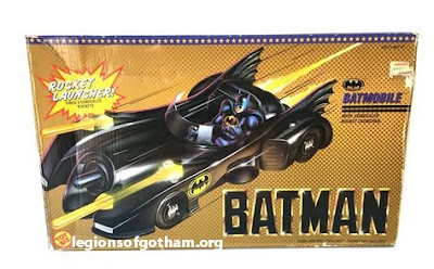Toy Biz Rocket Launcher Batmobile Vehicle