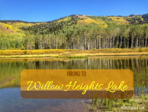 Hiking to Willow Heights Lake, Big Cottonwood Canyon, Utah, Kid friendly Trails in Salt Lake City