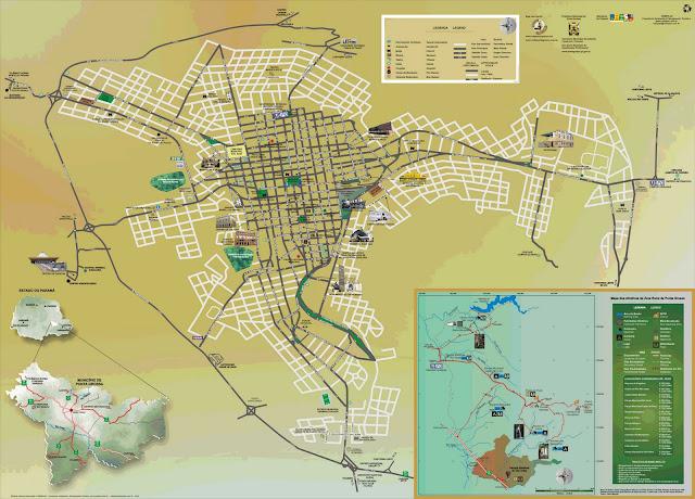 Mapa de Ponta Grossa