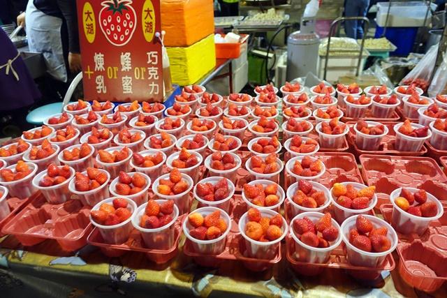 旱溪夜市大湖草莓