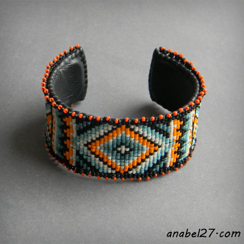 купить украшения из бисера ручная работа этно стиль