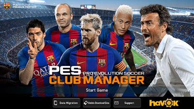 Download PES Club Manager apk + data