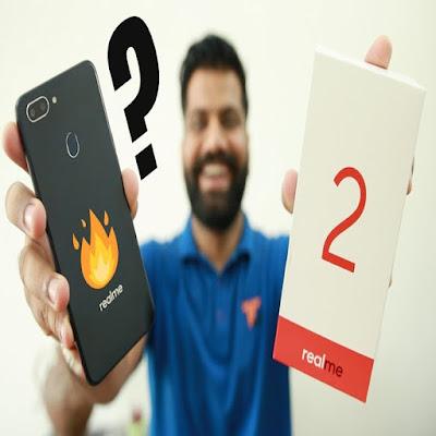 RealMe 2 new mobile unboxing hindi Video By Technical Guruji