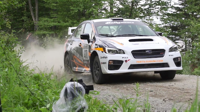 Remote Camera Triggering at Rally Car Race
