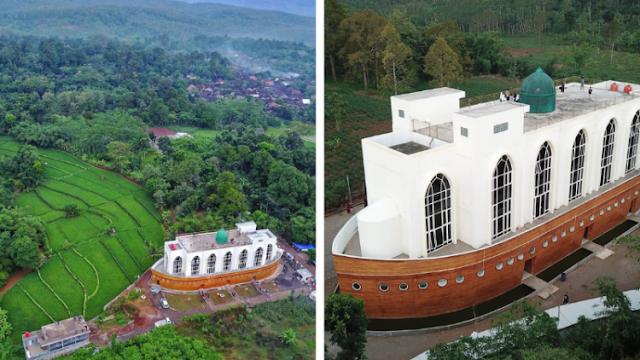 Masjid 'Kapal Nabi Nuh', Tempat Ibadah Sekaligus Wisata Hits di Semarang