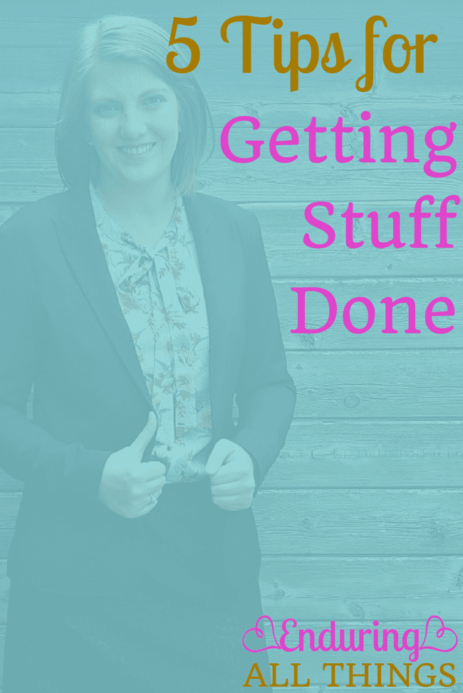 I have a bad habit of procrastinating and getting distracted when I'm trying to focus on work and get stuff done. Here are 5 tips that help.