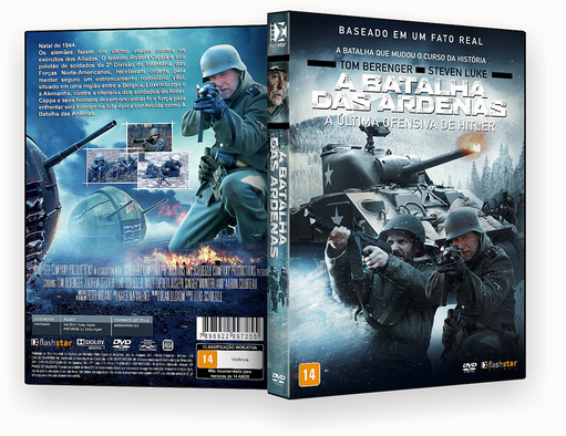 CAPA DVD – A Batalha Das Ardenas DVD-R