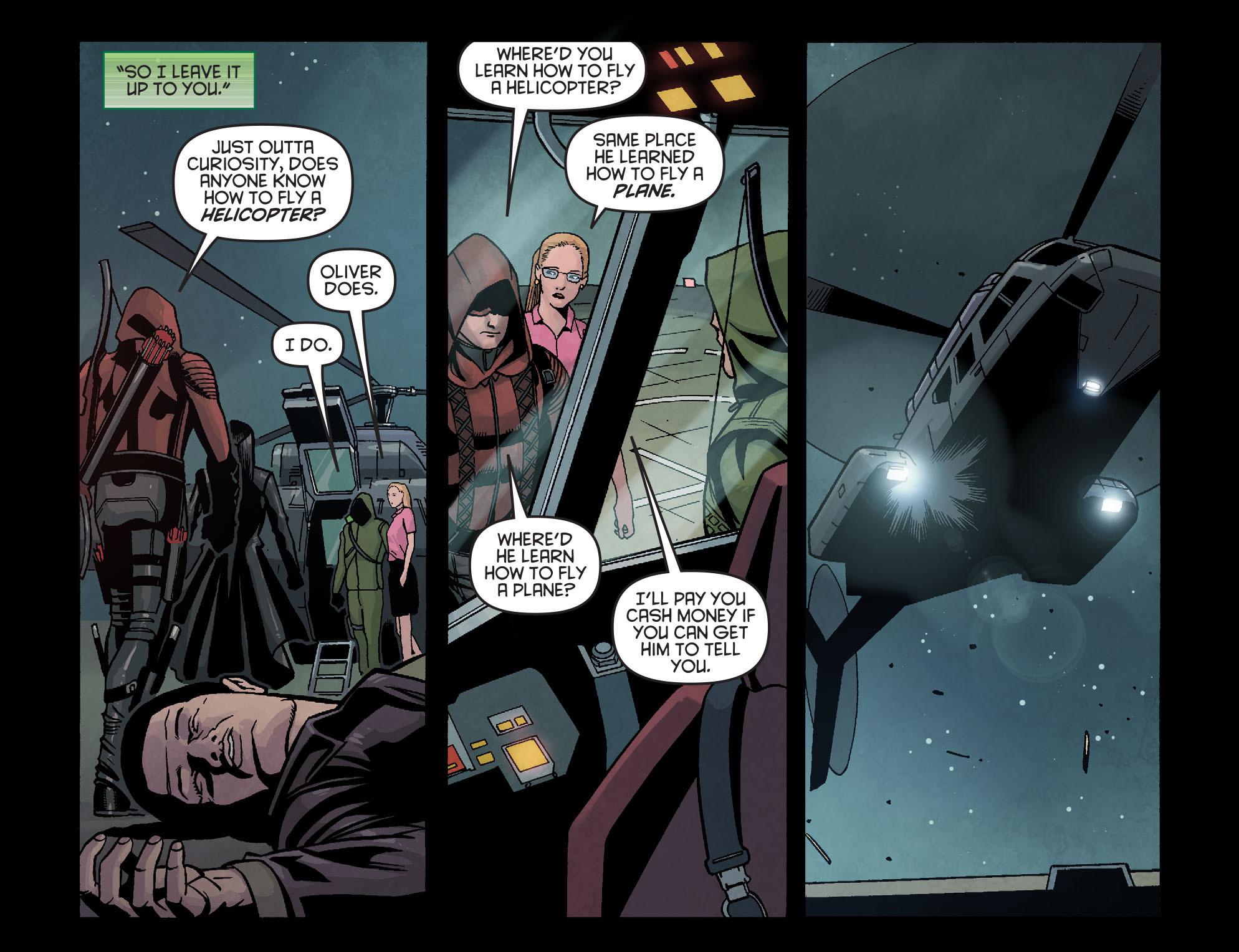 Read online Arrow: Season 2.5 [I] comic -  Issue #16 - 9