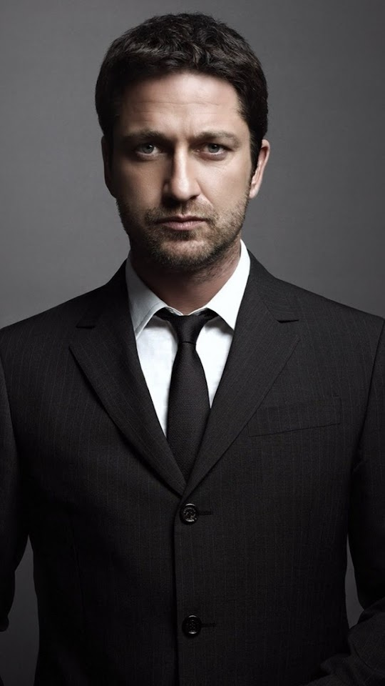 Gerard Butler Suit  Galaxy Note HD Wallpaper