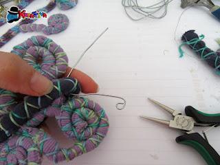 realizzare una farfalla creativa con magliette di cotone