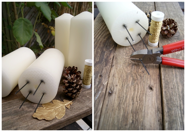 filz und garten gartenblog diy adventskranz aus zapfen. Black Bedroom Furniture Sets. Home Design Ideas