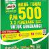 Mar1-Apr30: Peraduan Bertenaga Dengan MILO Contest: RM500 weekly cash prize (exclusive at Kedai Mesra PETRONAS)