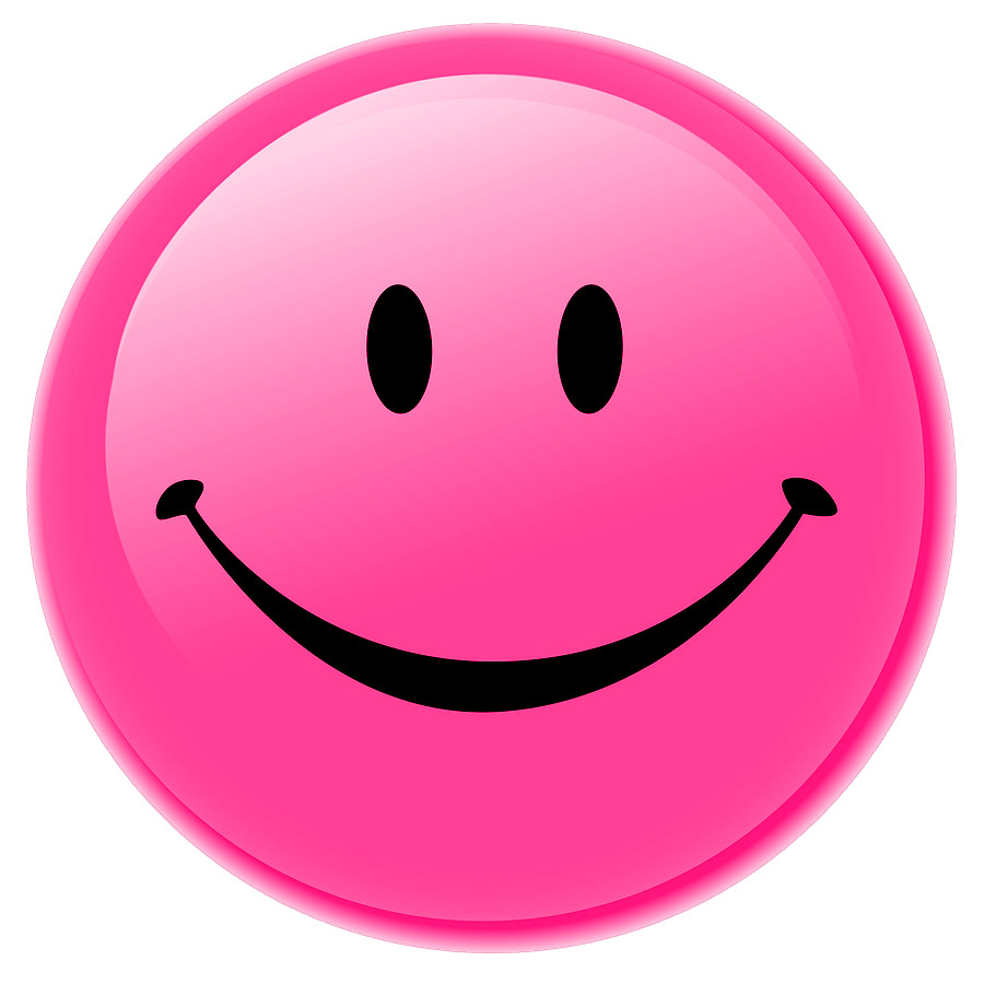 15 Pink Smileys and Emoticons Collection  Smiley Symbol
