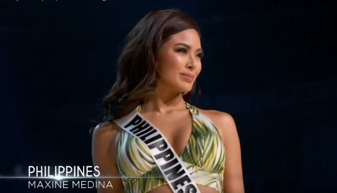 Miss Universe Philippines Maxine Medina.