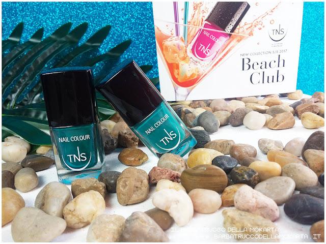 beach club collection TNS cosmetics FREE