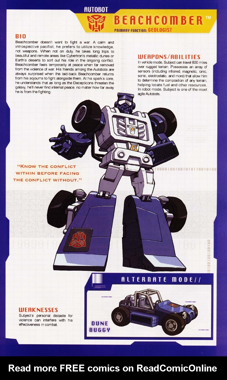 Read online Transformers: More than Meets the Eye comic -  Issue #1 - 21