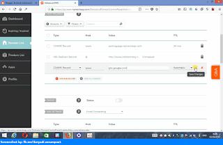 Namecheap advanced dns create first cname records