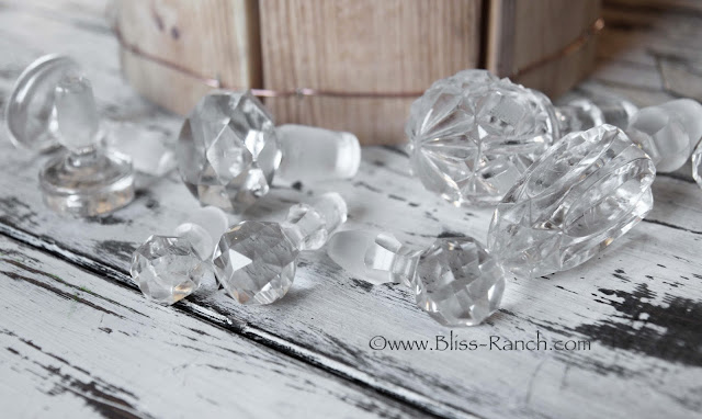 Glass Bottle Stoppers Upcycled to Icicle