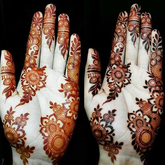 Easy And Simple Mehndi Designs For Front Hands - Henna - Mehendi