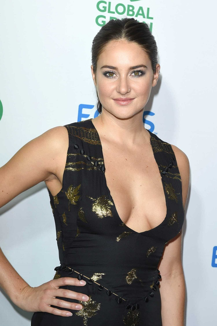 Shailene Woodley at Global Green 20th Anniversary Awards in Los Angeles